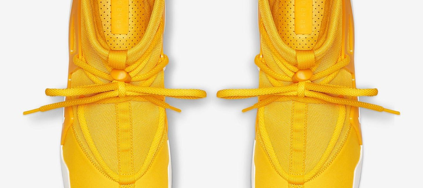 First Look at the rumoured Air Fear of God 1 'Yellow'